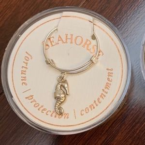 Brand New Alex and Ani Seahorse Ring